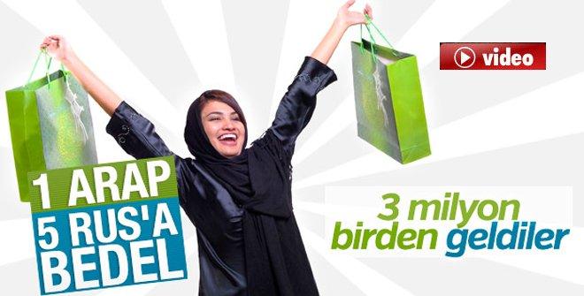 Bir Arap Ailesi Türkiye'de 3 Bin Dolar Harcıyor video