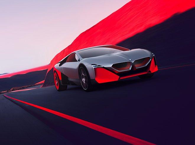 BMW Vision M NEXT - Sportif Sürüşün Geleceği