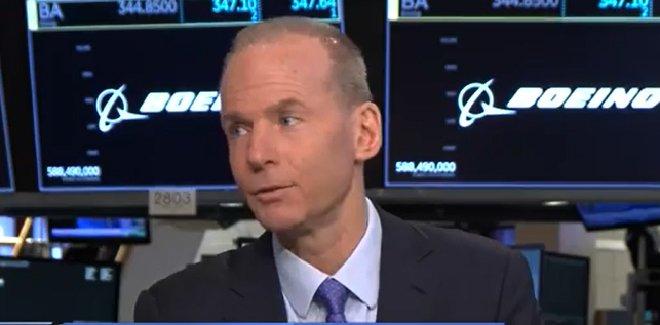 Boeing CEO'su Dennis Muilenburg'den Dünya'ya Açıklama!