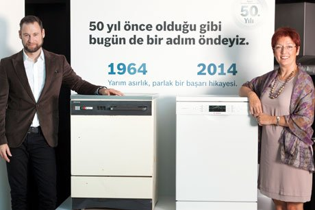 Bosch, bulaşık makinelerinin 50. yılını kutluyor