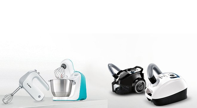 Bosch küçük ev aletleri, büyük indirimlerl