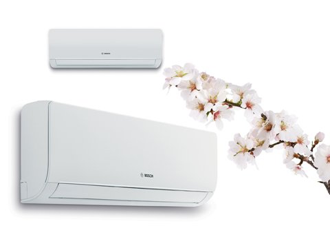 Bosch Slim İnverter klimalar TÜV Sertifikalı