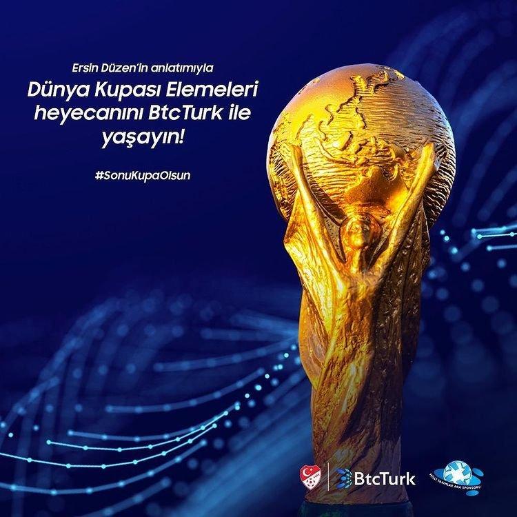 BtcTurk, Fifa Dünya Kupası'nın nabzını tutuyor!