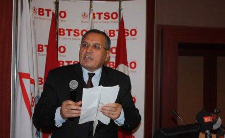BTSO 2012 yılı bütçesi 27 milyon TL