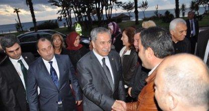 Bülent Arınç, Alanya'da Nişan Törenine Katıldı