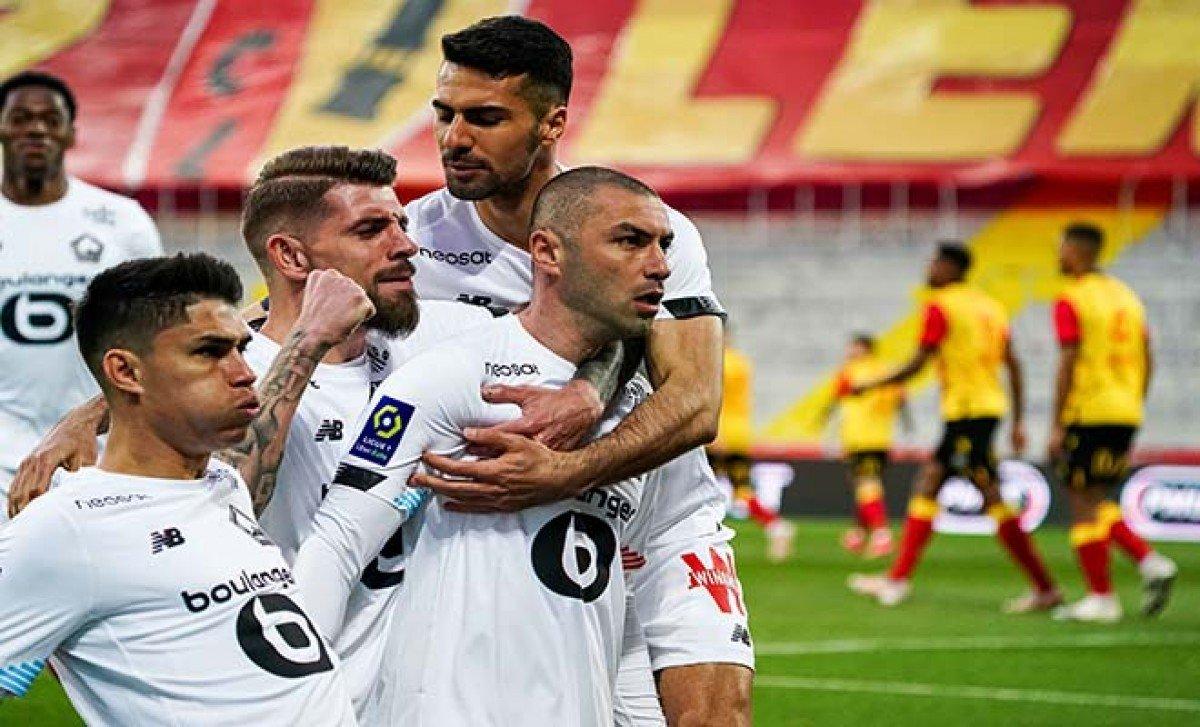 Burak Yılmaz yıldızlaştı, Lille yine kazandı#video