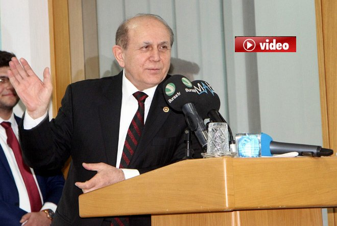 Burhan Kuzu, Tayyip Bey 30 yıl kalsın diyorum.