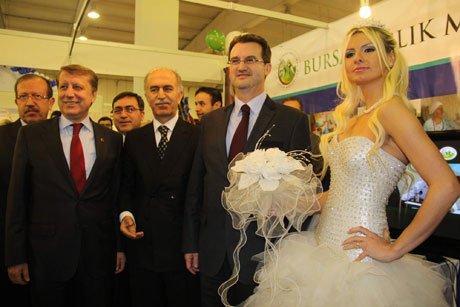 Bursa'da 6 fuar kapılarını ziyarete açtı.