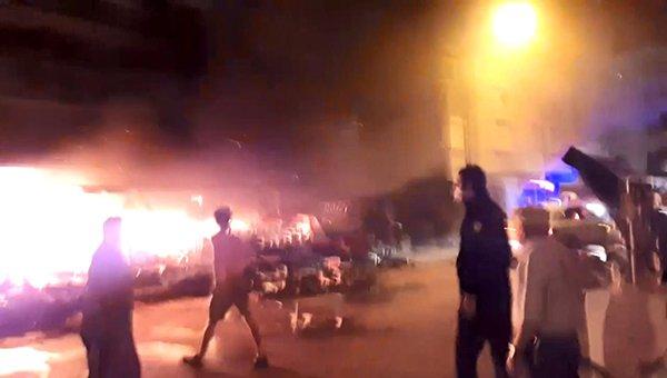 Bursa'da, çiçekçide çıkan yangın korkuttu