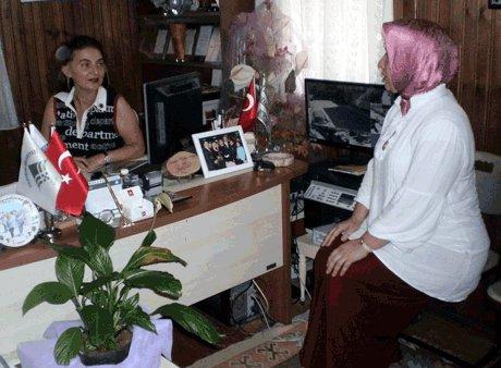 Bursa'da ise 30 kadın muhtar var.