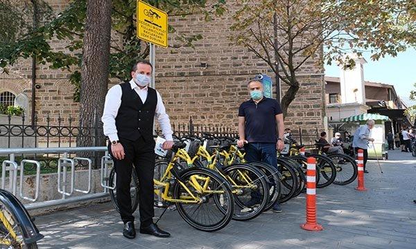 Bursa'da paylaşımlı bisiklet dönemi