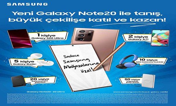 Büyük Galaxy Çekilişi Samsung Mağazaları'nda!