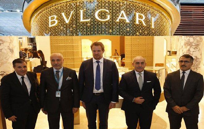 Bvlgarı, İstanbul Havalimanı'ndaki yerini aldı