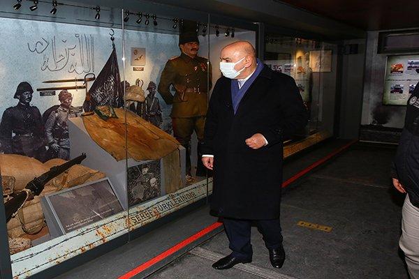 'Çanakkale Savaşları Mobil Müzesi'ne Altınok'tan tam destek