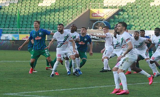 Çaykur Rizespor-Yukatel Denizlispor maçının ardından