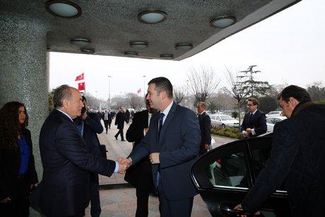 Çek Meclis Başkanı'ndan Başkan Topbaş'a ziyaret