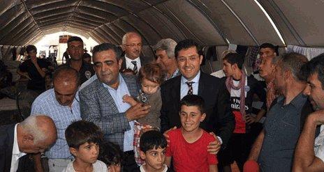 CHP heyetinden Yezidilere ziyaret