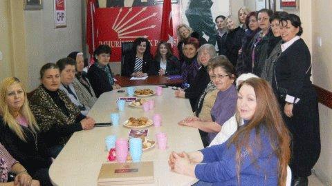 CHP'li kadınlar seçim startını verdi