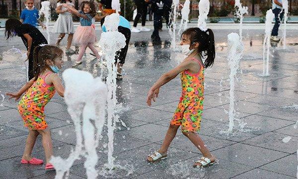 Çocukların eğlence merkezi Keçiören ıslanma havuzu
