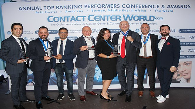Contact Center World Dünya Finallerinde 4 Ödül Aldı