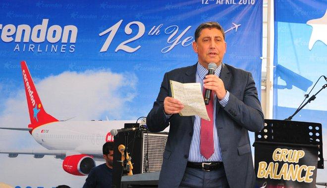 Corendon Airlines Göklerdeki 12. Yılını Kutluyor