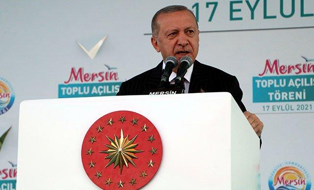 Cumhurbaşkanı Erdoğan: Akkuyu Nükleer Santrali 2023'ün Mayıs ayında tamamlanacak