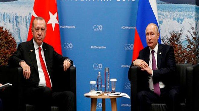 Cumhurbaşkanı Erdoğan'dan G-20 temasları