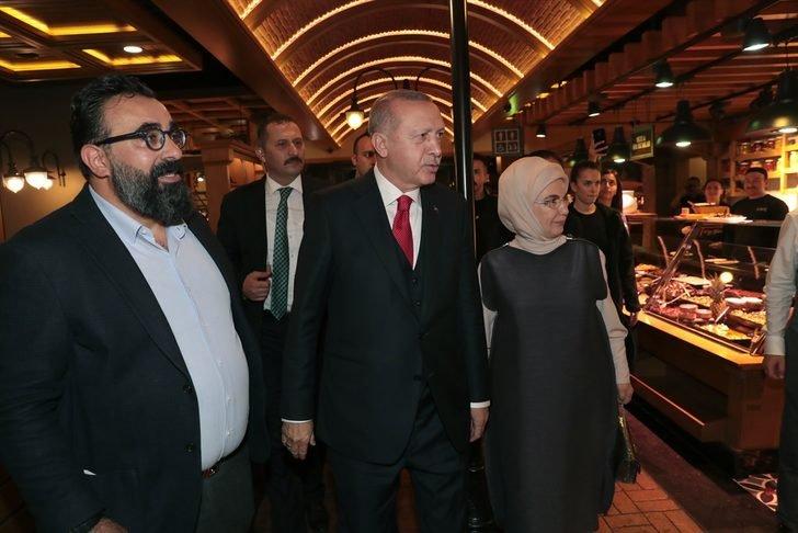 Cumhurbaşkanı Erdoğan, İstanbul'da vatandaşlarla sohbet etti