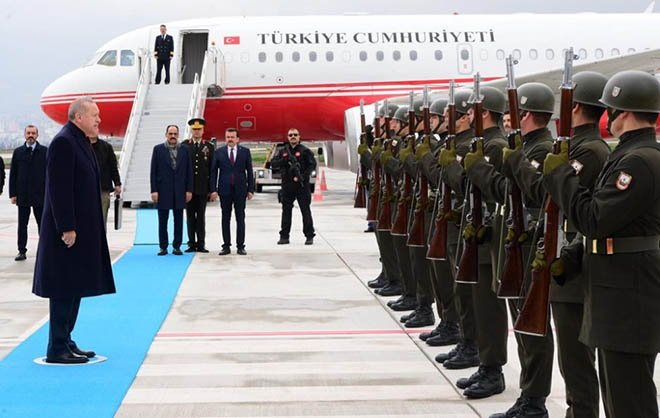 Cumhurbaşkanı Erdoğan: Kahramanmaraş Havalimanı'nda