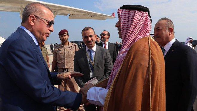 video Cumhurbaşkanı Erdoğan Katar'da