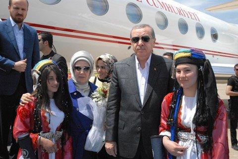 Cumhurbaşkanı Erdoğan, Siirt'te