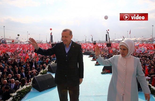 Cumhurbaşkanı Erdoğan:Bugün İstanbul bir başka güzel.