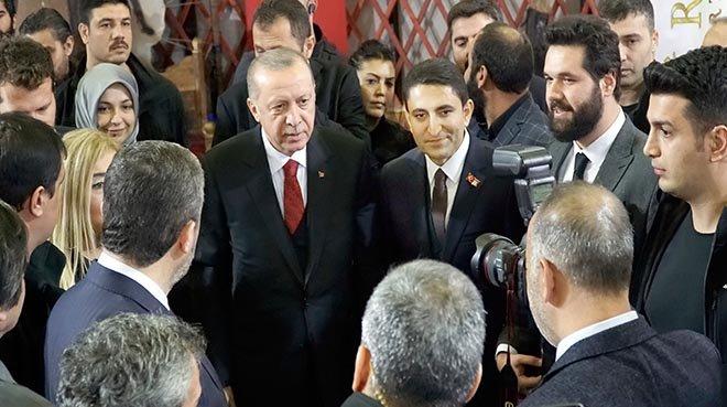 Cumhurbaşkanı Erdoğan Birevim Standı'nda