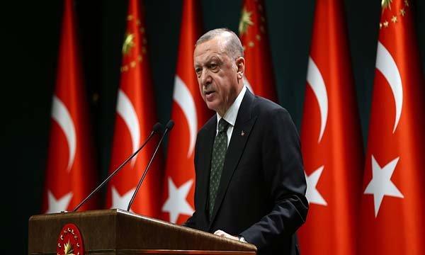Erdoğan,Kovid-19'a ilişkin yeni tedbirleri açıkladı!(video)