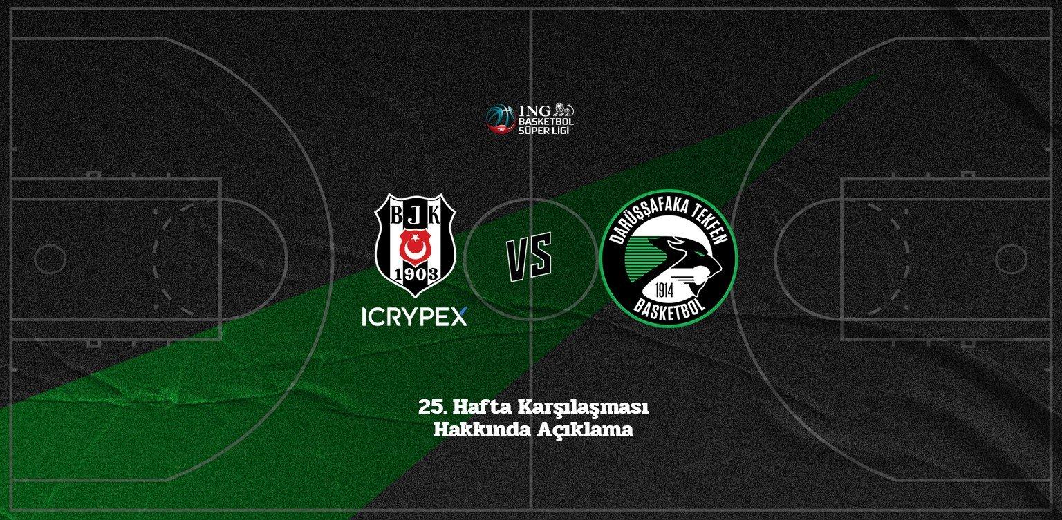 Darüşşafaka Tekfen - Beşiktaş Icrypex Maçı