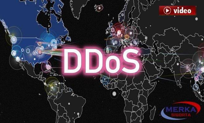 DDoS saldırıları nedir? Nasıl yapılır? video