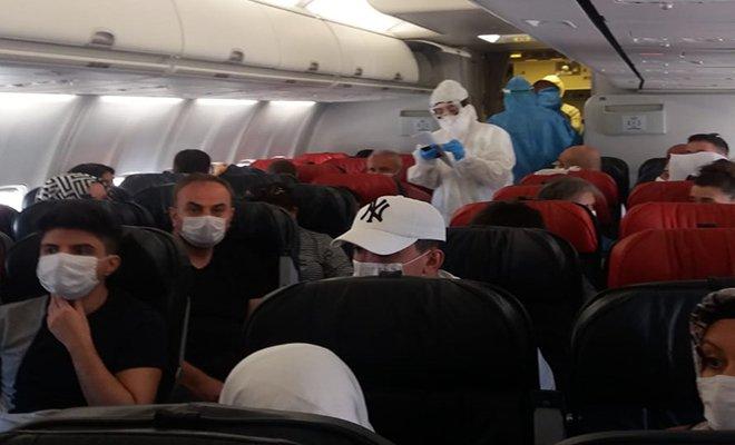 Diyarbakır-Ankara uçağında koronavirüs korkusu!