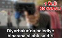 Kaçak Yapıcılar Belediye'yi Bastı! 1 Ölü 20 Yaralı!