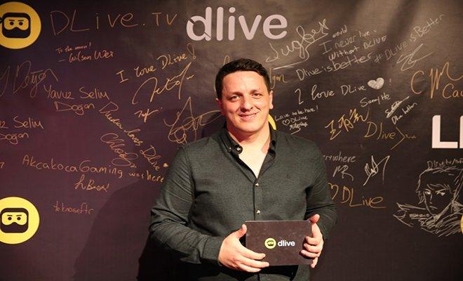 DLive'da Barış Özcan yayınında rekor kırdı