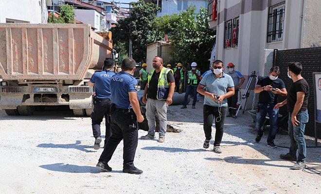 Doğalgaz parladı, 3 işçi yanarak yaralandı