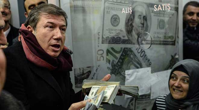 Dolar ve Euro eriyor!