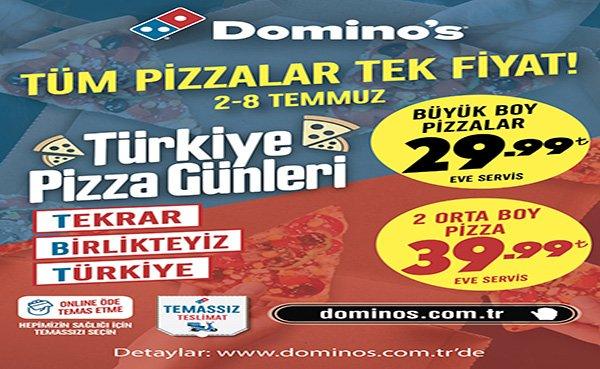 Domino's'tan pizza severleri mutlu eden #TBT