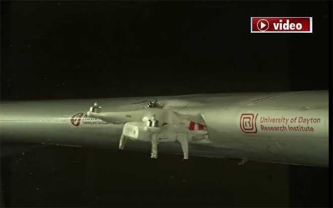 Drone ile uçak çarpışırsa ne olur?video