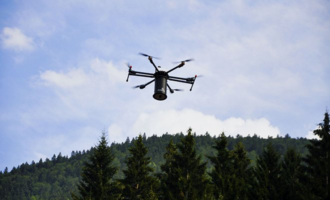 Dronlarla'insansız' oluşturulacak ilk 'EvdeKalOrmanı'