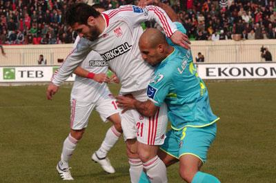 Diyarbakırspor:1-Sivasspor:1