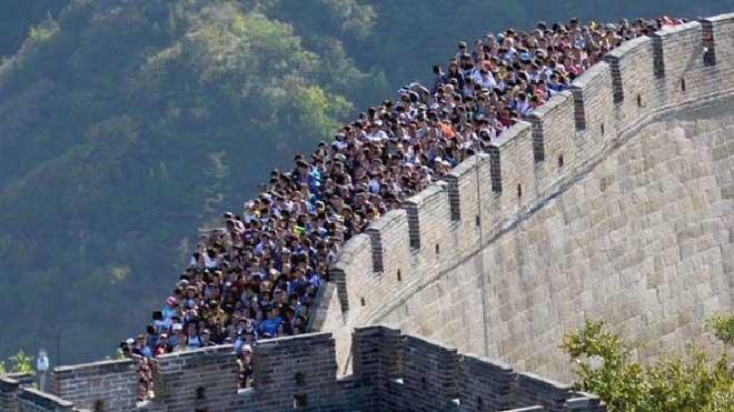 Dünyanın en bonkör turistleri Çinliler