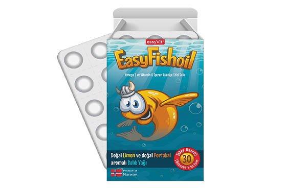 """EasyFishOil'in Kalitesi """"GOED Gururlu Üyesi"""" Logosu"""