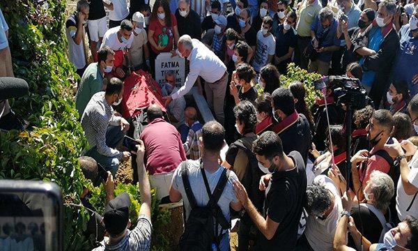 Ebru Timtik'in cenazesi defnedildi