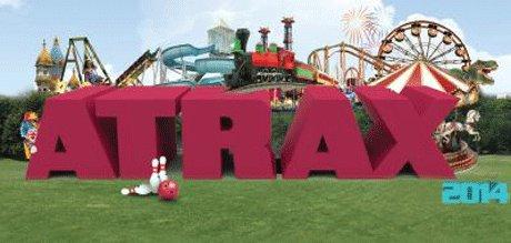 Eğlence Fuarı Atrax 2014'de ilk kez görücüye çıkıyor.