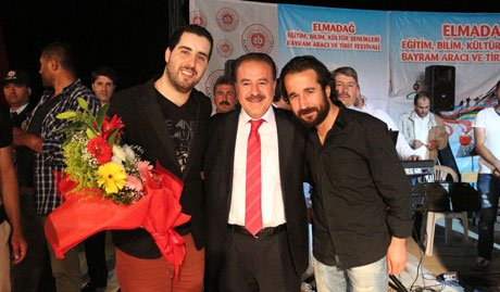 Elmadağ'da Sincanlı Mustafa Taş Coşkusu